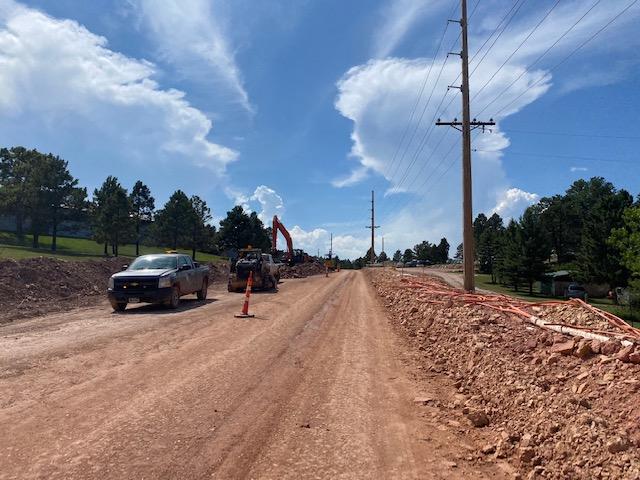 Sheridan Lake Road Reconstruction - Storm Sewer Installation 2020-08-03