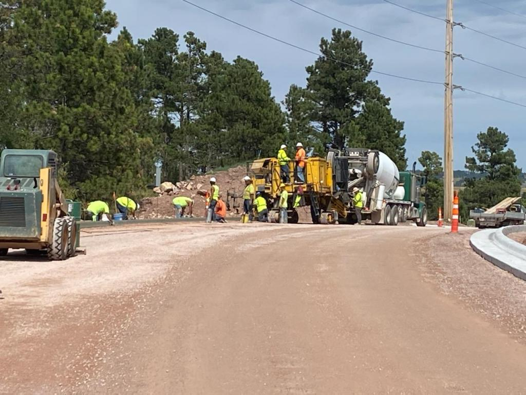 Completing curb on Sheridan Lake Road from east of Clarkson Road to Albertta Drive 2020-08-31