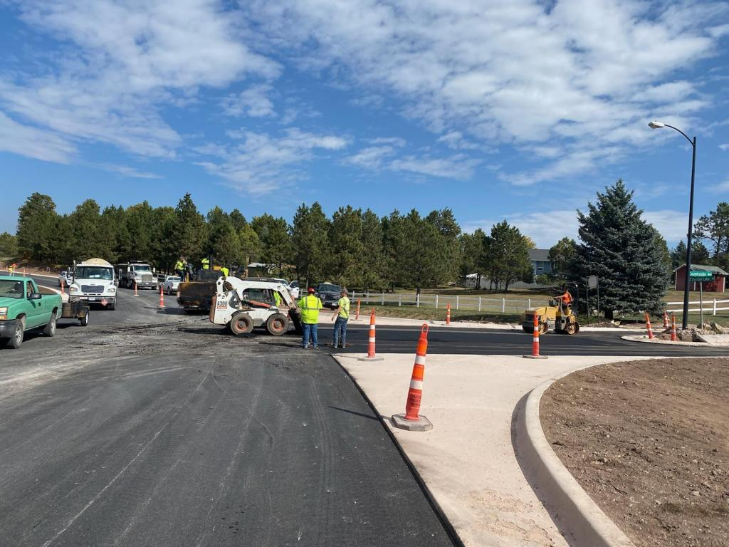 Sheridan Lake Road Reconstruction paving side streets - Countryside Boulevard 2020-10-05