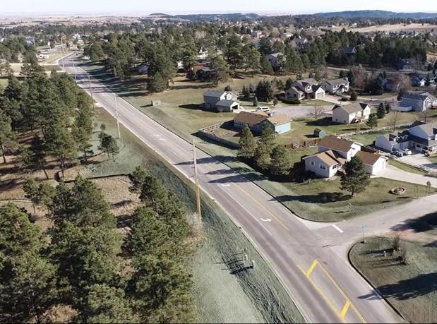 Sheridan Lake Road near Spring Canyon Trail November 2020