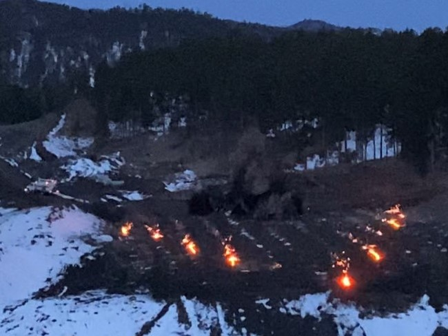 Blasting Rock For New Road Alignment 2021-03-22