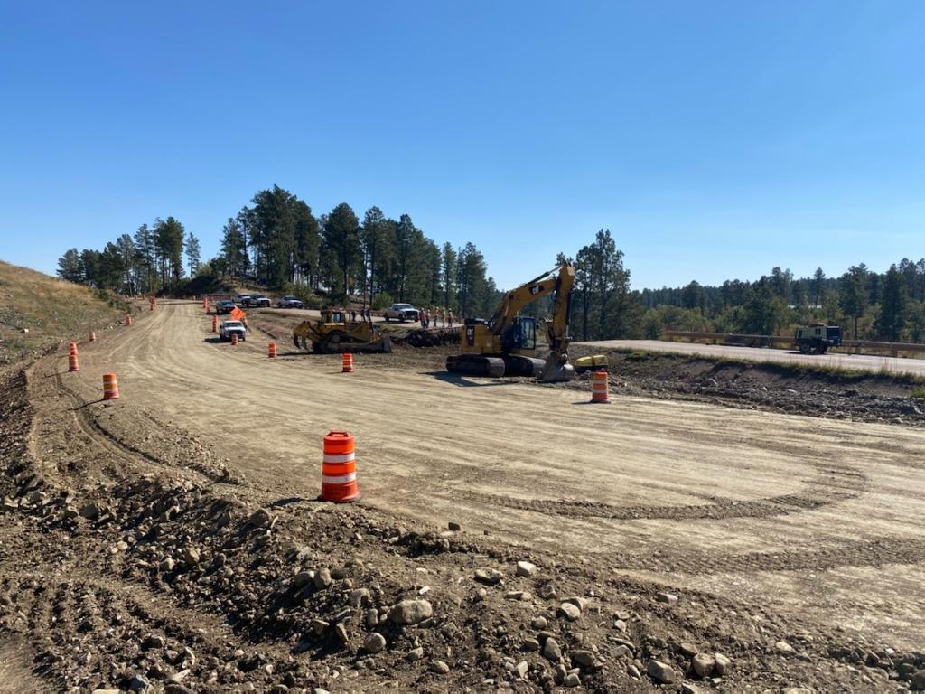 Pipe Excavation East of  Burges Road, on Sheridan Lake Road, Pennington County, South Dakota, Monday, October 4, 2021.